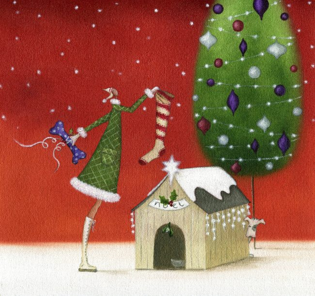 GREETINGS CARDS_XmasDoghouse